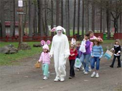Easter Egg Hunt and Hat Parade