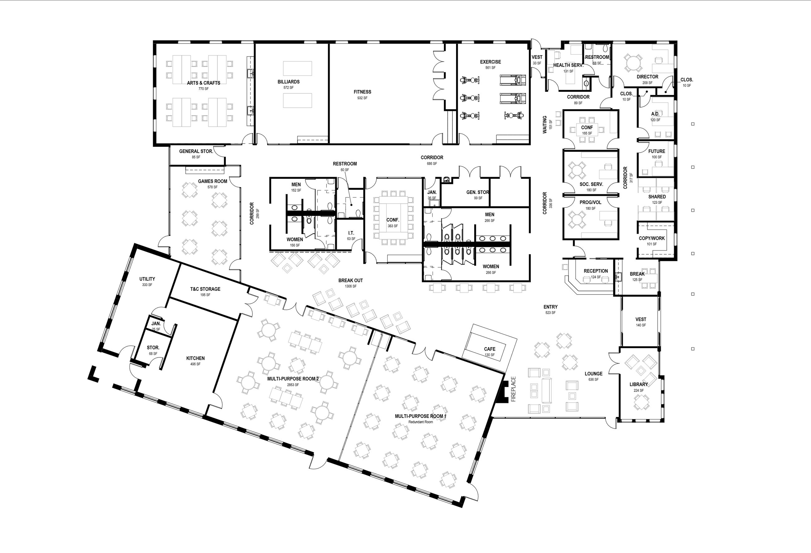Revised Senior Center Design Oct 2020