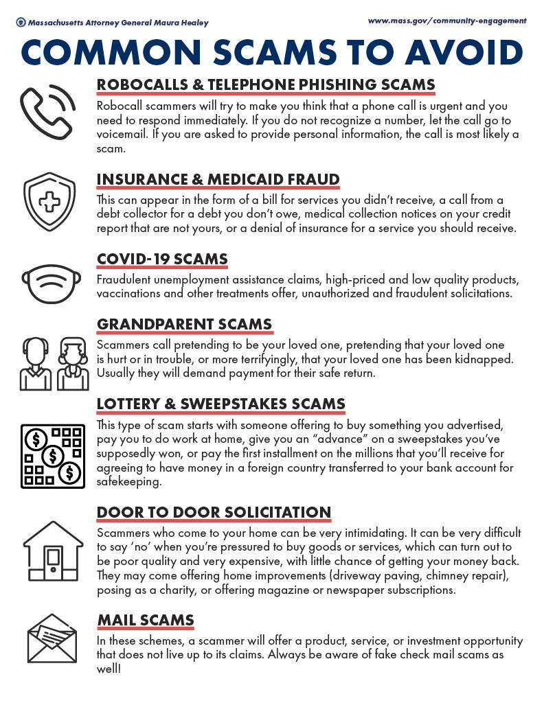 Scams and ID Theft Page 1