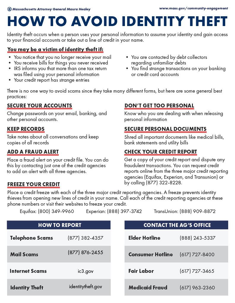 Scams and ID Theft Page 2